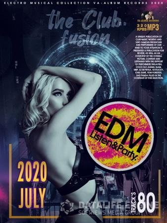 The Club Fusion: EDM Listen & Party (2020)